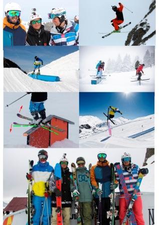 Курс инструкторов Фристайл - базовый уровень. Горные лыжи